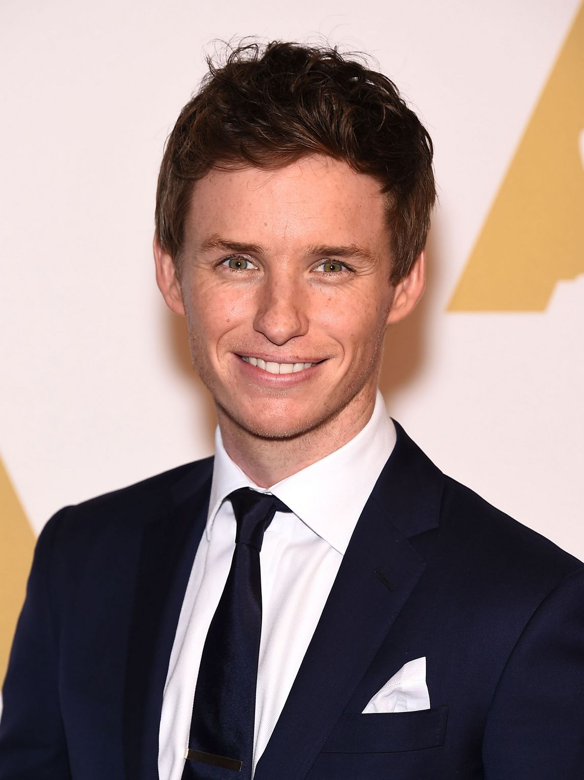 Eddie- Redmayne - in -Ralph- Lauren -at The- Hollywood -Reporter's- Annual -Oscar -Nominees -Night -Party
