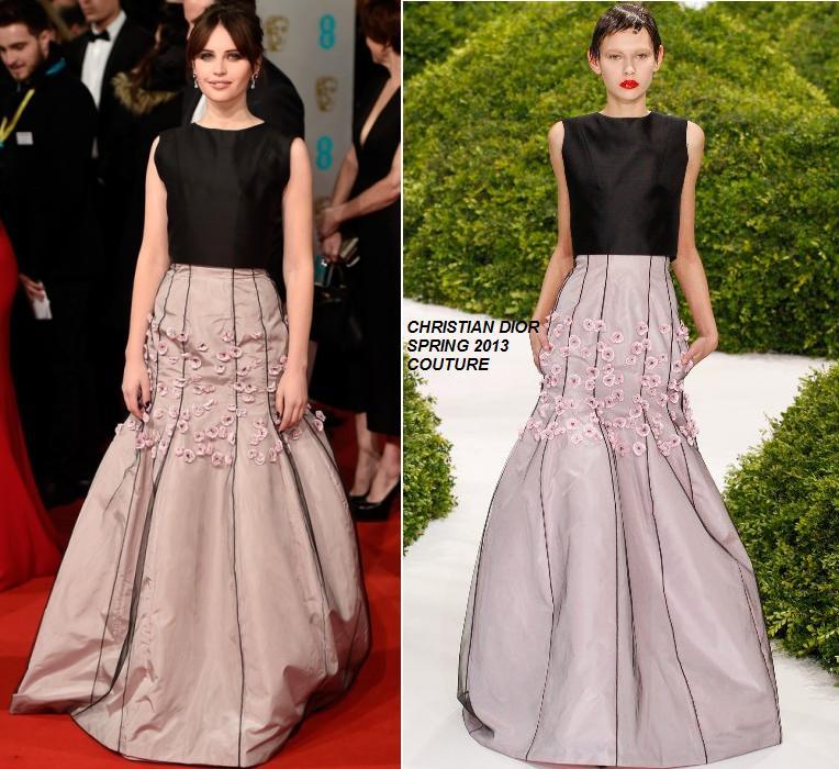 felicity-jones-christian-dior-couture-2014-baftas