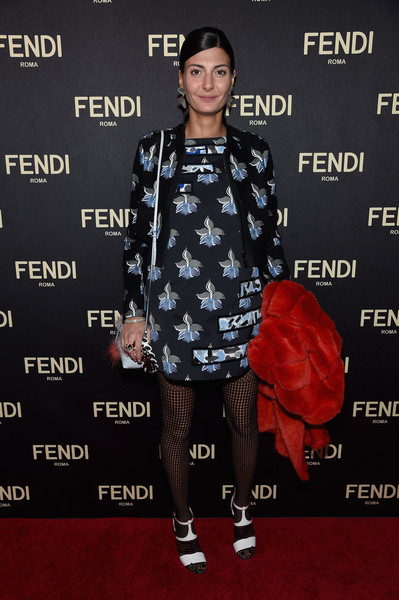 Giovanna+Battaglia+FENDI+Celebrates+Opening