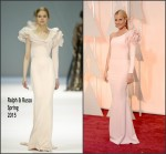 Gwyneth Paltrow In Ralph & Russo Couture at  the 2015 Oscars