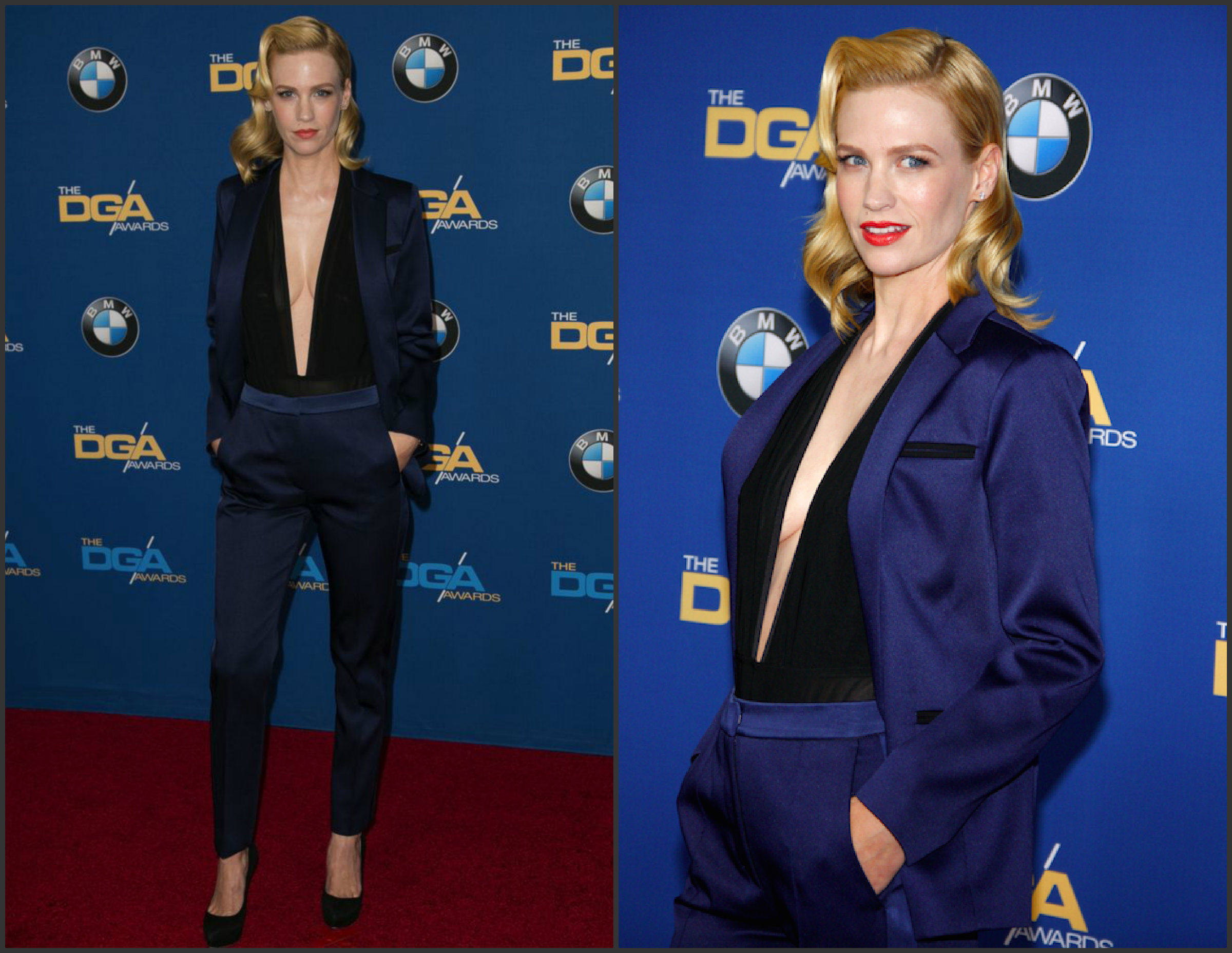January-Jones-In-Sandro-at-the-2015-Directors-Guild-Awards