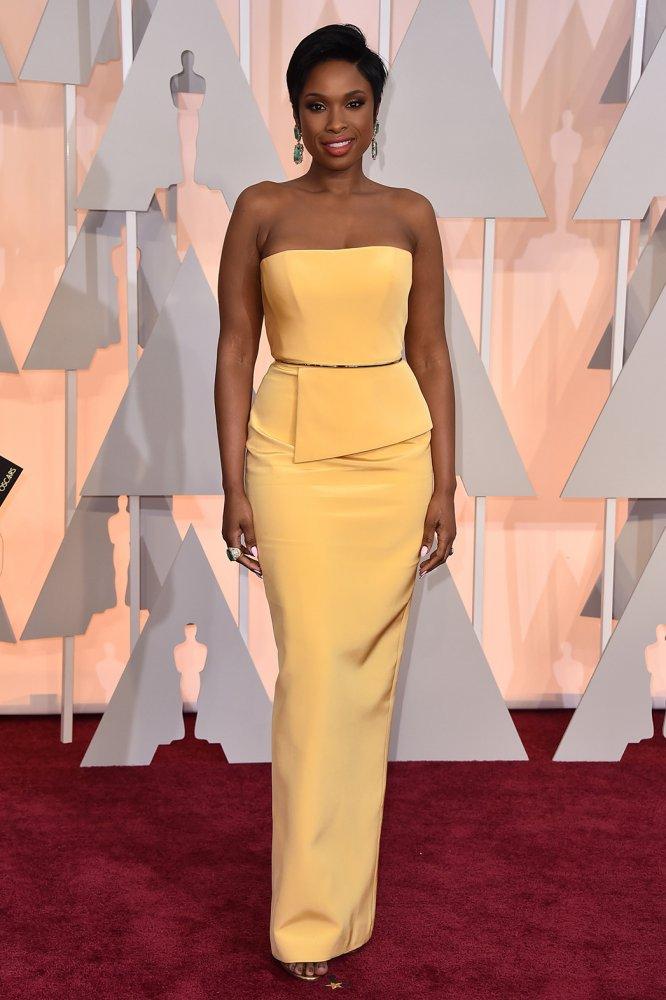 Jennifer -Hudson -In -Romona -Keveza – 2015 -Oscars