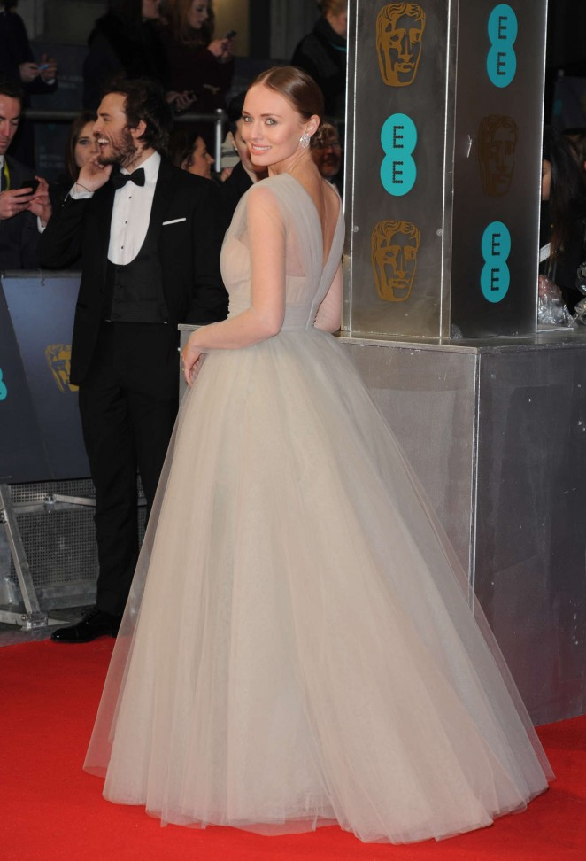 Laura-Haddock--BAFTA-Awards-2015--