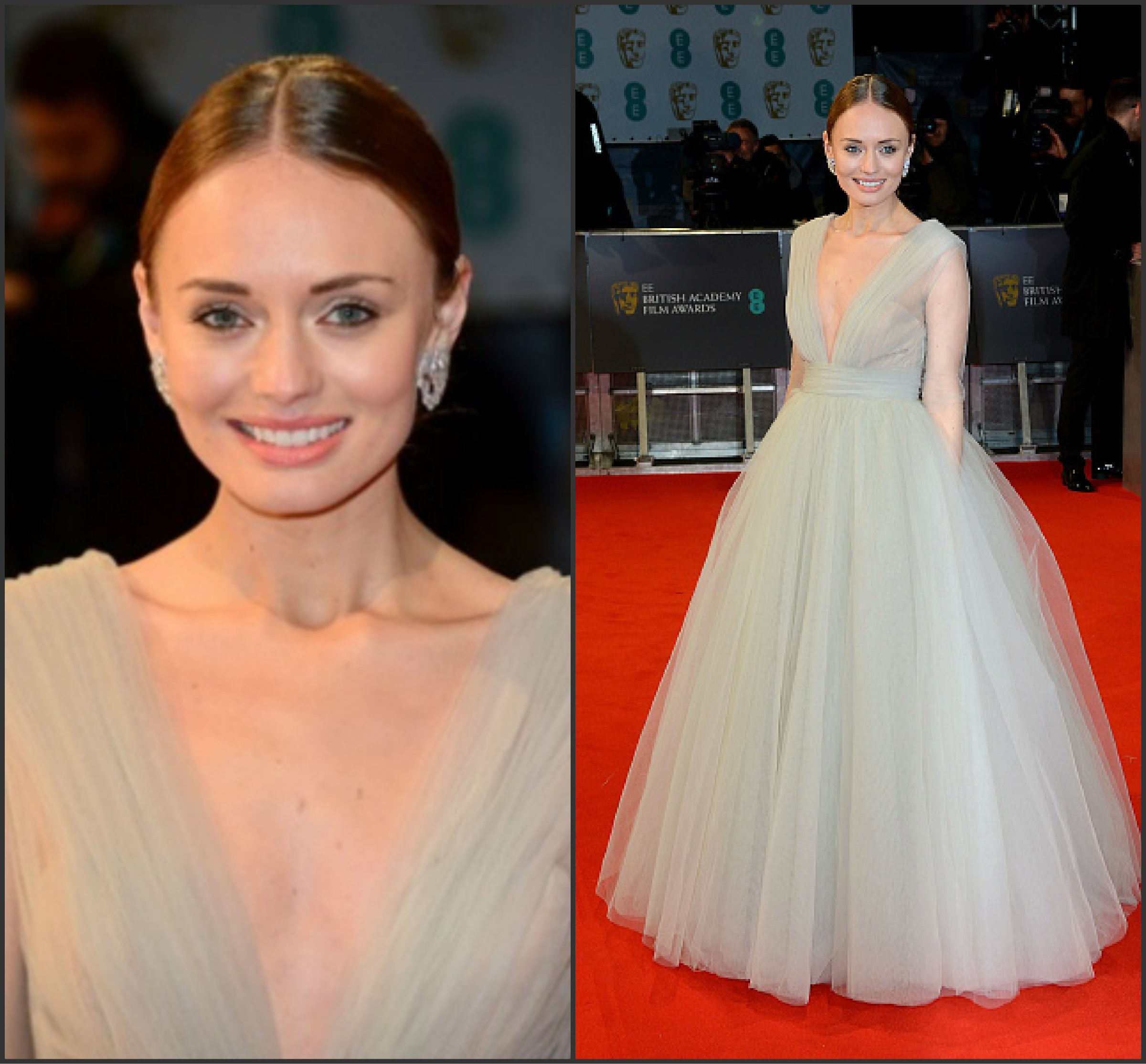 Laura-Haddock-IN-Ashi-Studio-at-the-2015-BAFTAs