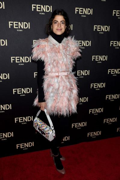 Leandra+Medine+FENDI+Celebrates+Opening+New+