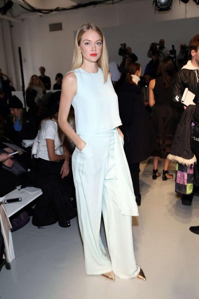 Lindsay Ellingson – Misha Nonoo Fashion Show in NYC