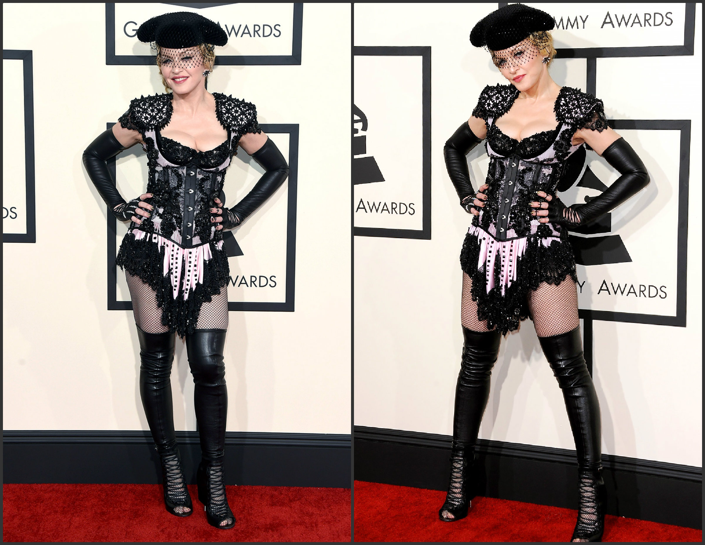 Madonna-In-Givenchy-at-the-2015-Grammy-Awards