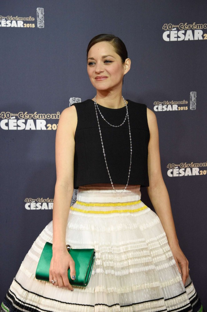 marion cotillard in christian dior couture at the 2015 c sar film awards fashionsizzle. Black Bedroom Furniture Sets. Home Design Ideas