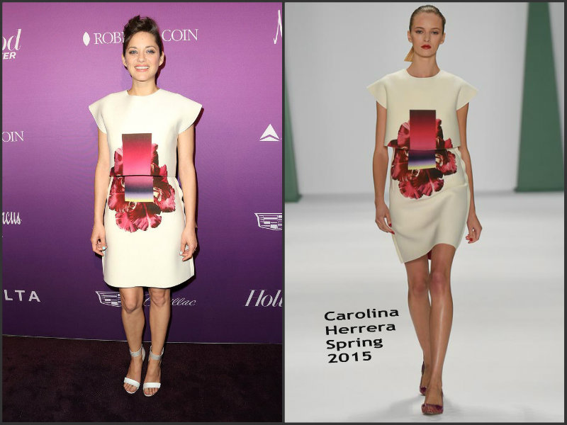 Marion-Cotillard-In-Carolina-Herrera-at-the-Hollywood-Reporter's-Annual-Nominees-Night-Party