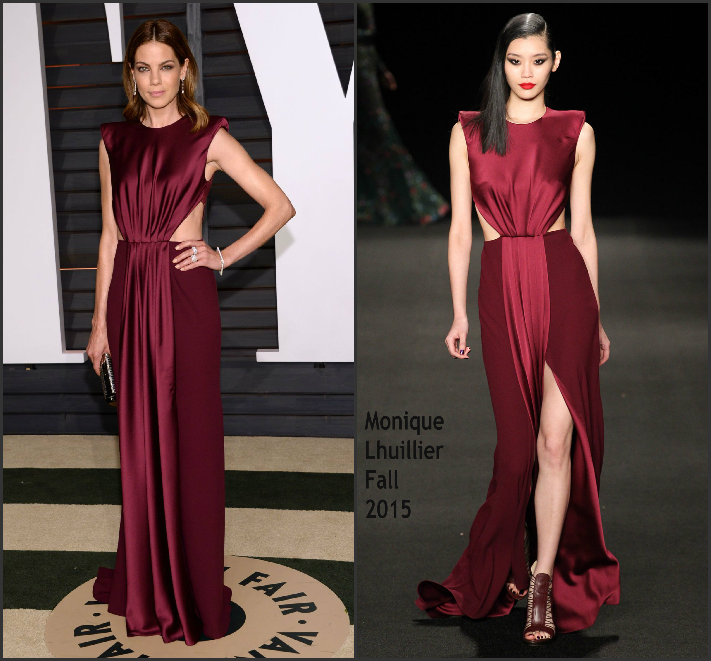 Michelle- Monaghan- In-Monique -Lhuillier-2015-Vanty-Fair-oscar-Party