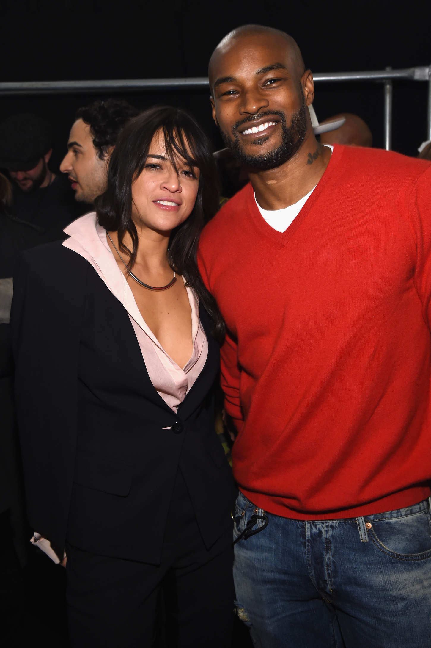 Michelle Rodriguez and Tyson Beckford