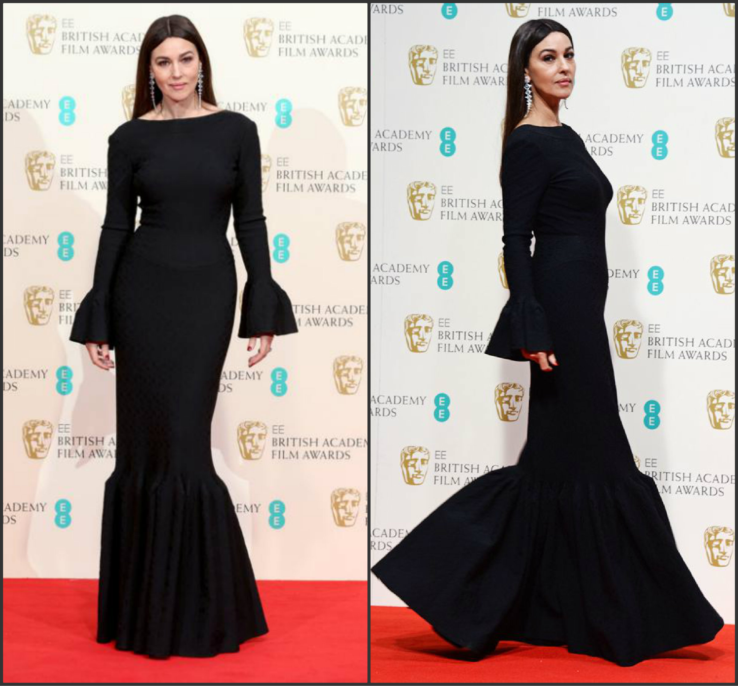 Monica-Bellucci-In-Alaia-at-the-2015-BAFTAs