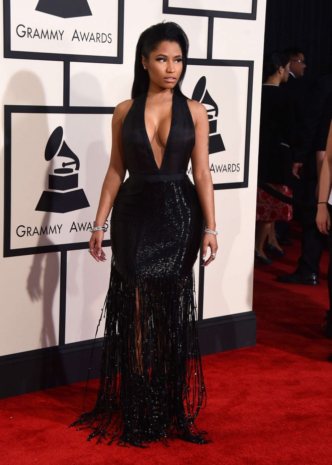 Nicki Minaj In Tom Ford At The 2015 Grammy Awards Fashionsizzle