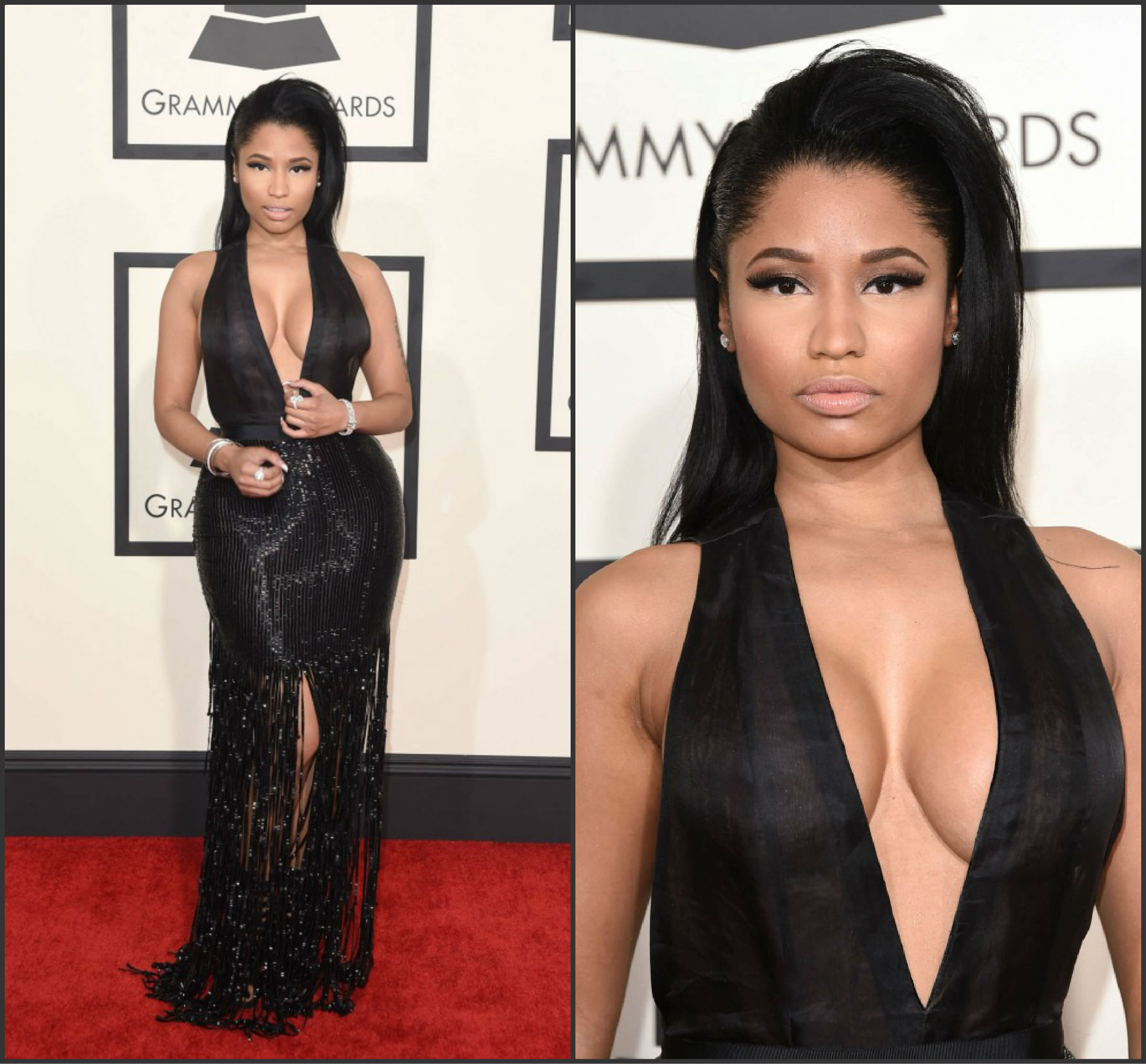 Nicki-Minaj-in-Tom-Ford-at-the-2015-Grammy-Awards