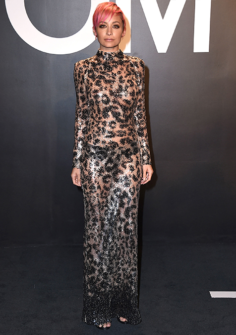 nicole-richie-om Ford AutumnWinter 2015 Womenswear Presentation - Arrivals