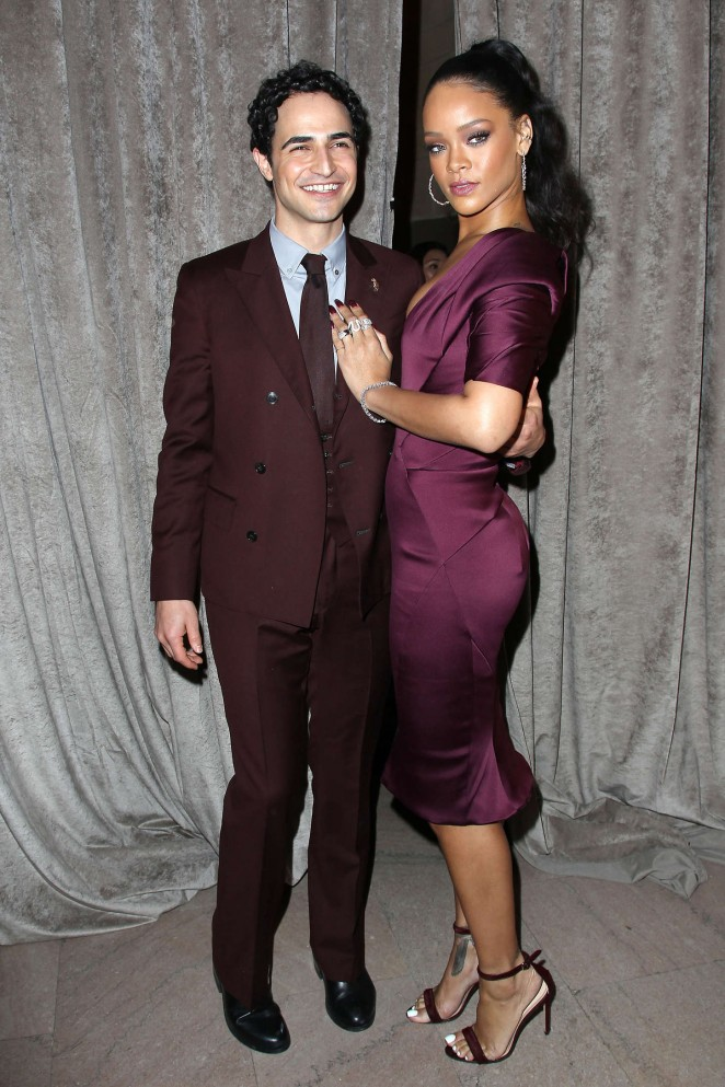Rihanna--Zac-Posen-Fashion-Show-2015-