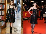 Rinko Kikuchi in Chanel  at the 'Nobody Wants the Night' Berlinale International Film Festival Premiere
