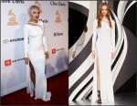 Rita Ora In Emilio Pucci  at the  Pre-Grammy  Gala And Salute Honouring Martin Bandier