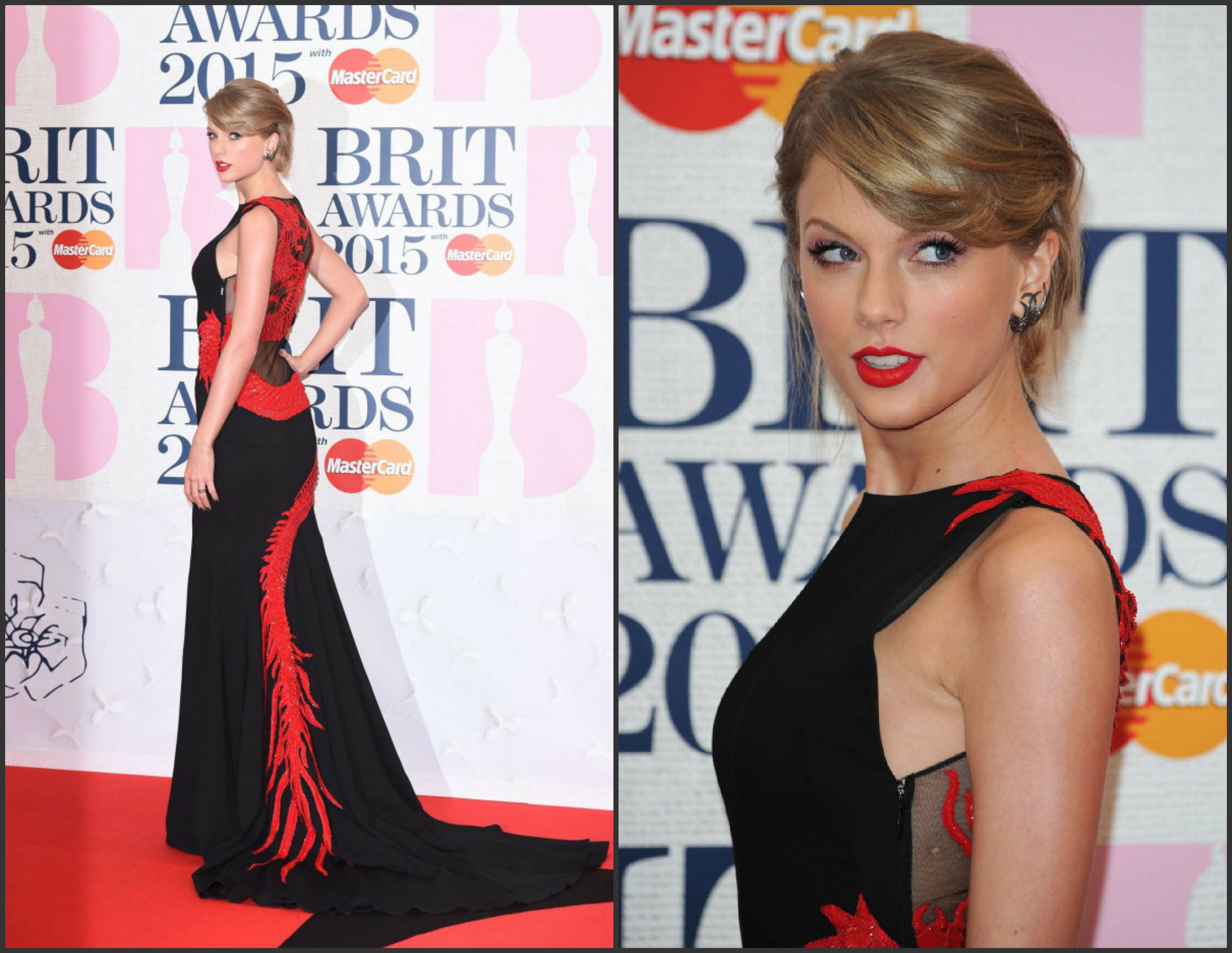 Taylor-Swift-In-Roberto-Cavalli-Atelier-at-the-2015-BRIT-Awards