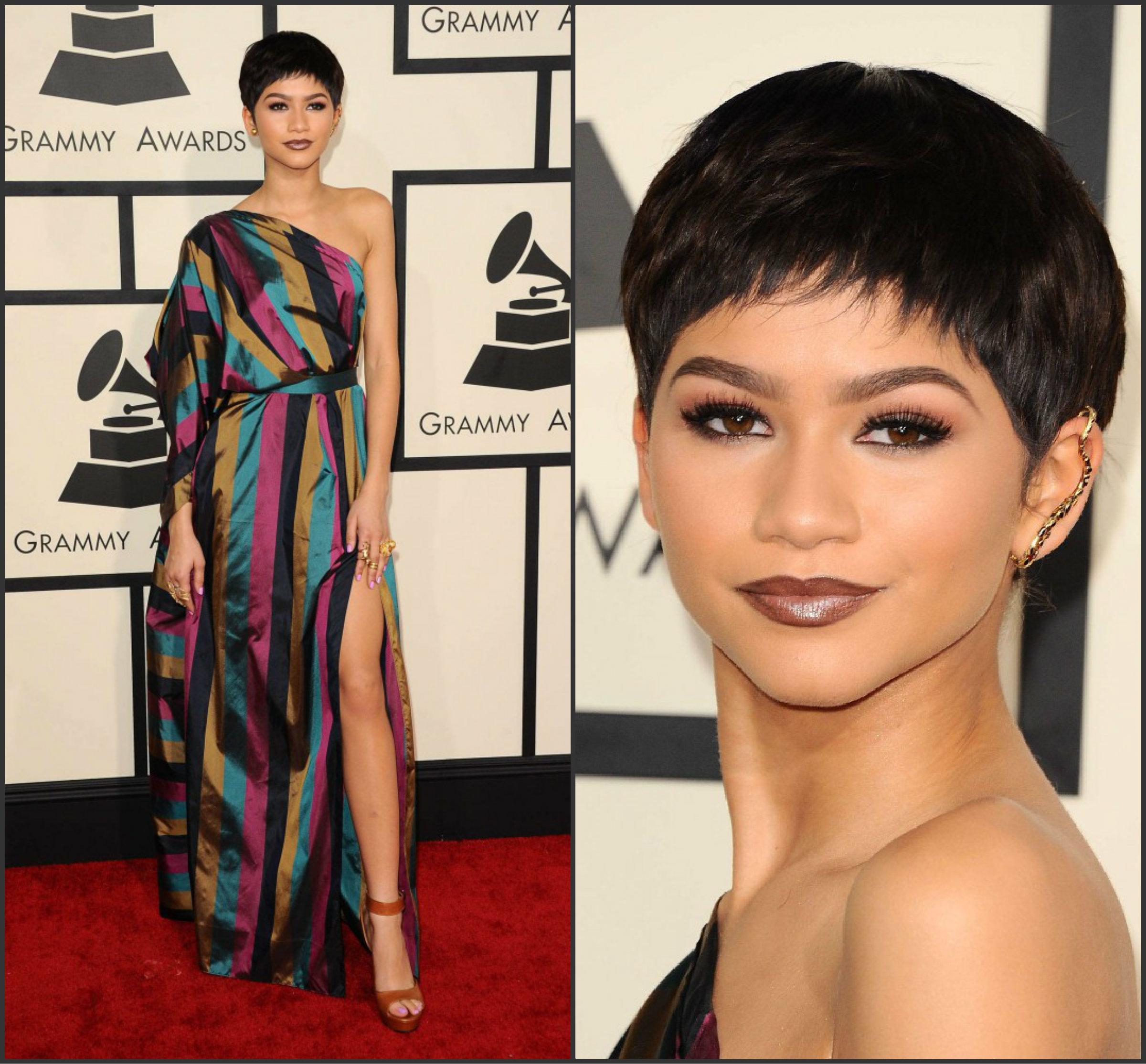 Zendaya-Coleman-IN-Vivienne-Westwood-at-the-2015-Grammy-Awards