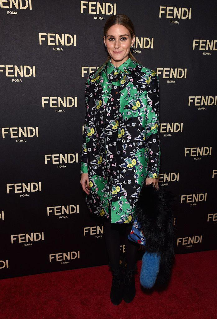 Olivia -Palermo- FENDI-Celebrates-Opening-New-York-Flagship-