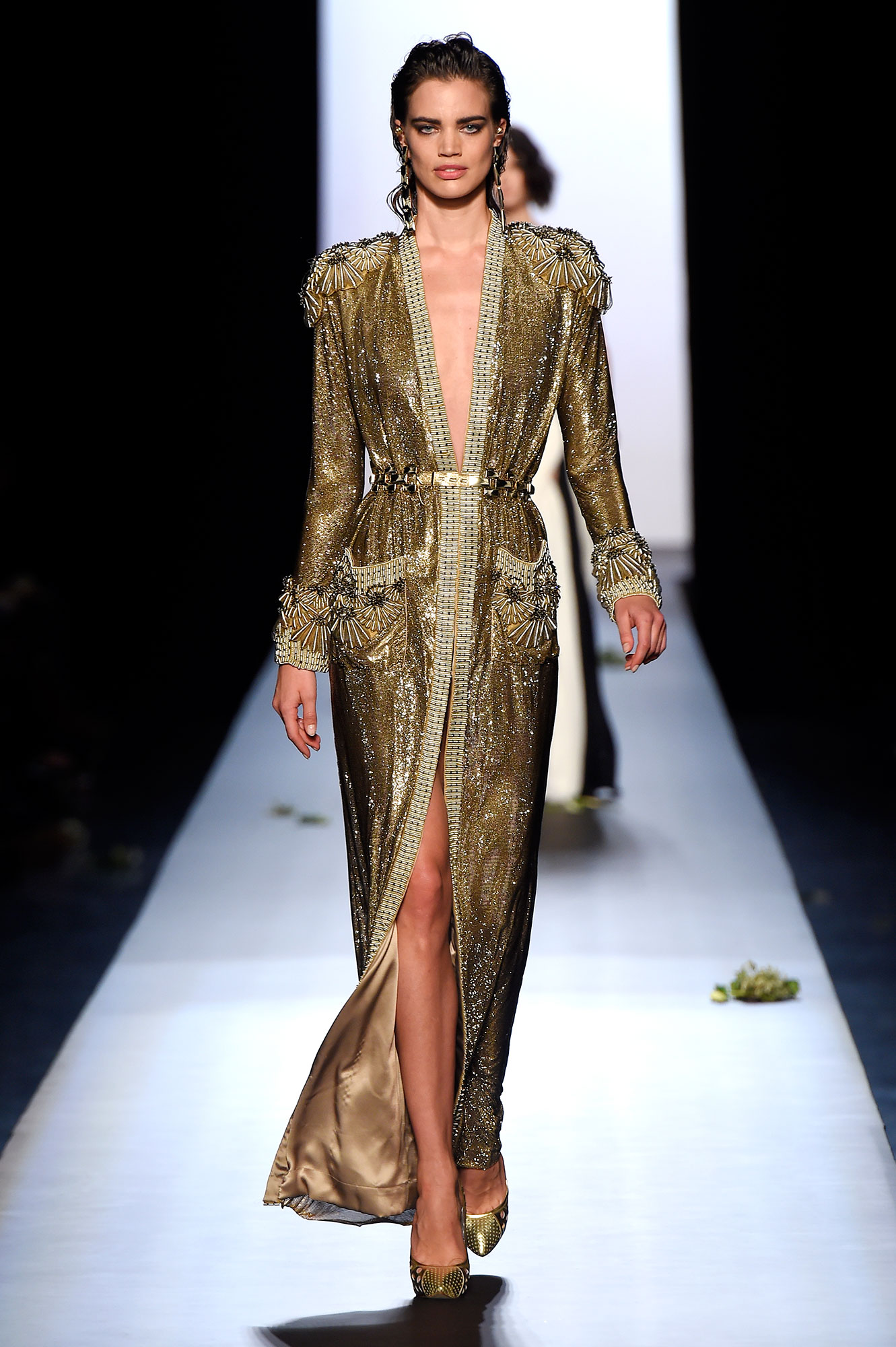 Kim kardashian in jean paul gaultier couture at the 2015 for Couture clothing