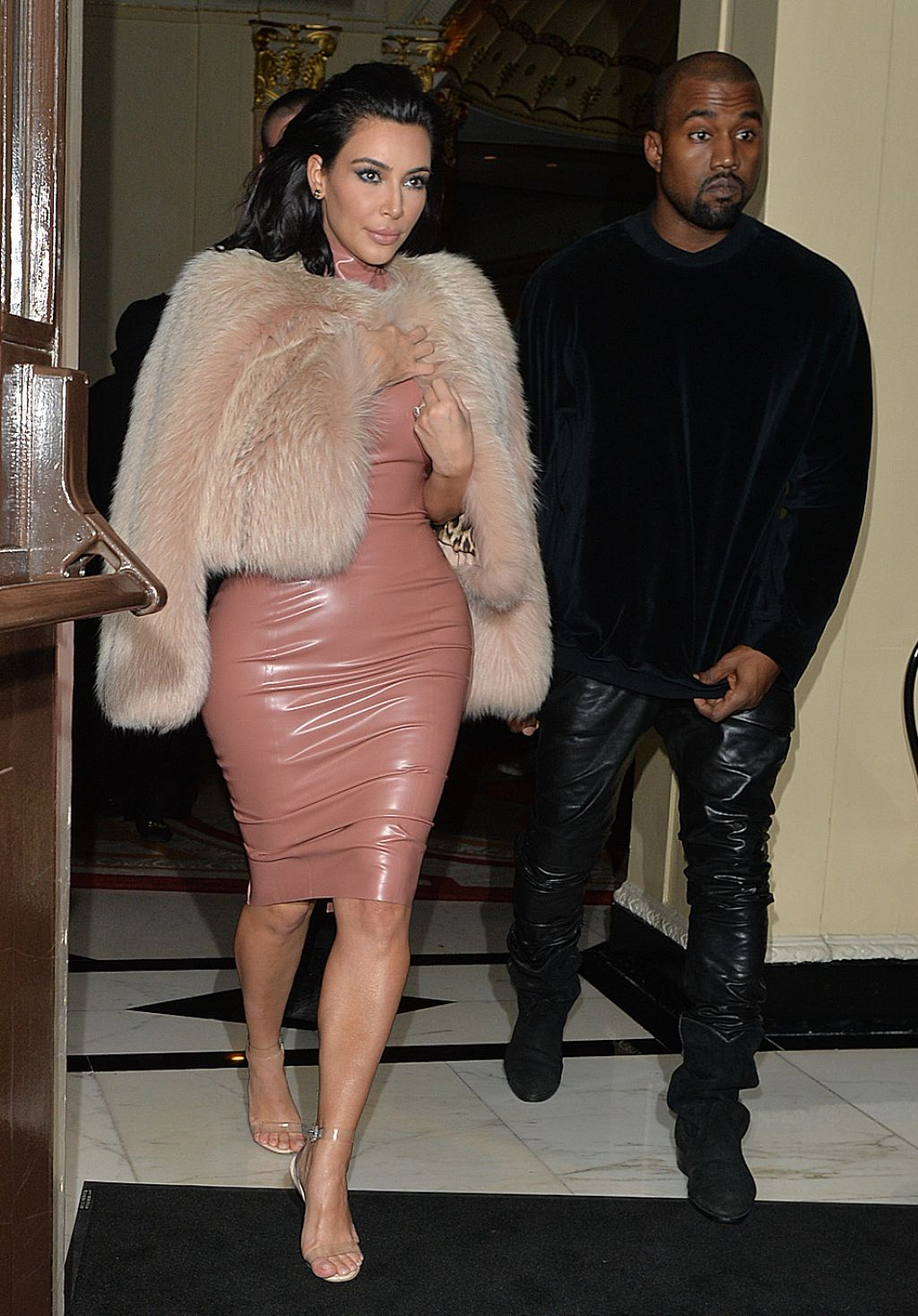 Kim -Kardashian -In -Atsuko -Kudo – Mert-& -Marcus -House -of- Love -Party -for- Madonna