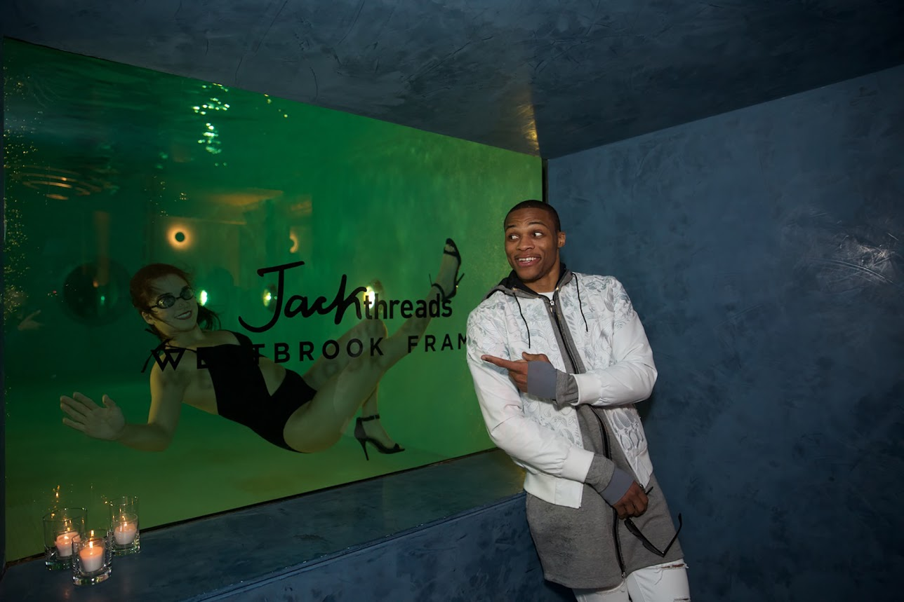 Jack-Threads- &- Russell -Westbrook- hosted -a -party -in- honor -of -the launch- of -the- Westbrook -Frames -Silver -Series -collection