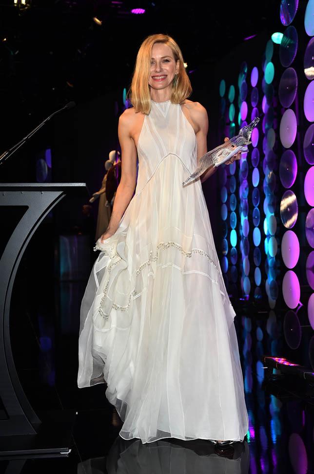 Naomi Watts - Altuzarra - at -the -17th- Costume- Designers -Event