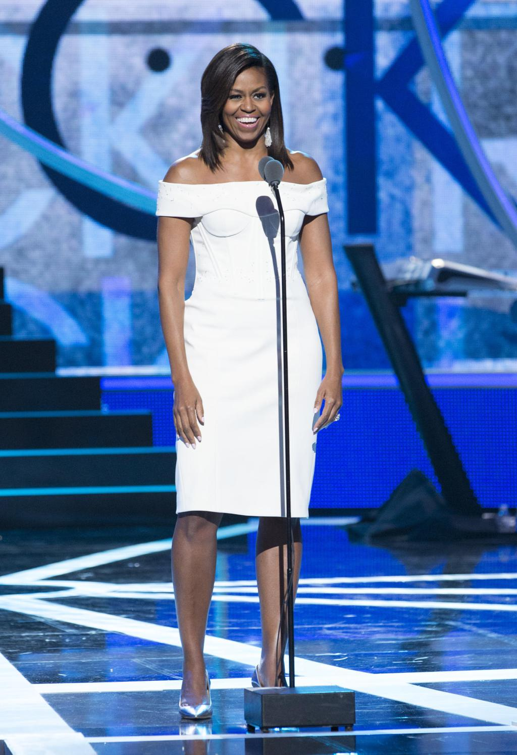 "Michelle- Obama -speaks -at- BET's 2015 ""-Black -Girls- Rock-"" in -NJ"
