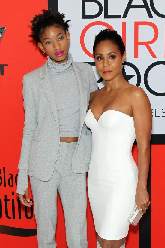 Willow -smith-Jada- Pinkett -Smith-red-carpet-arrivals-black-girls-rock-2015