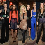 Balmain Fall 2015 Show and  After Dinner Party