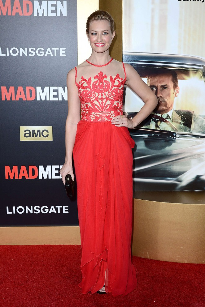 beth-behrs-in-naeem-khan-mad-men-black-red-ball