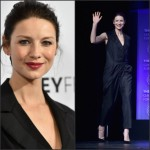 "Caitriona Balfe in Bottega Veneta at the 32nd Annual PALEYFEST LA ""Outlander"" Panel"