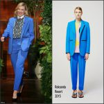 Cate Blanchett In Roksanda  at the Ellen DeGeneres Show