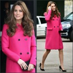 Catherine, Duchess of Cambridge In Mulberry  at  The Stephen Lawrence Charitable Trust