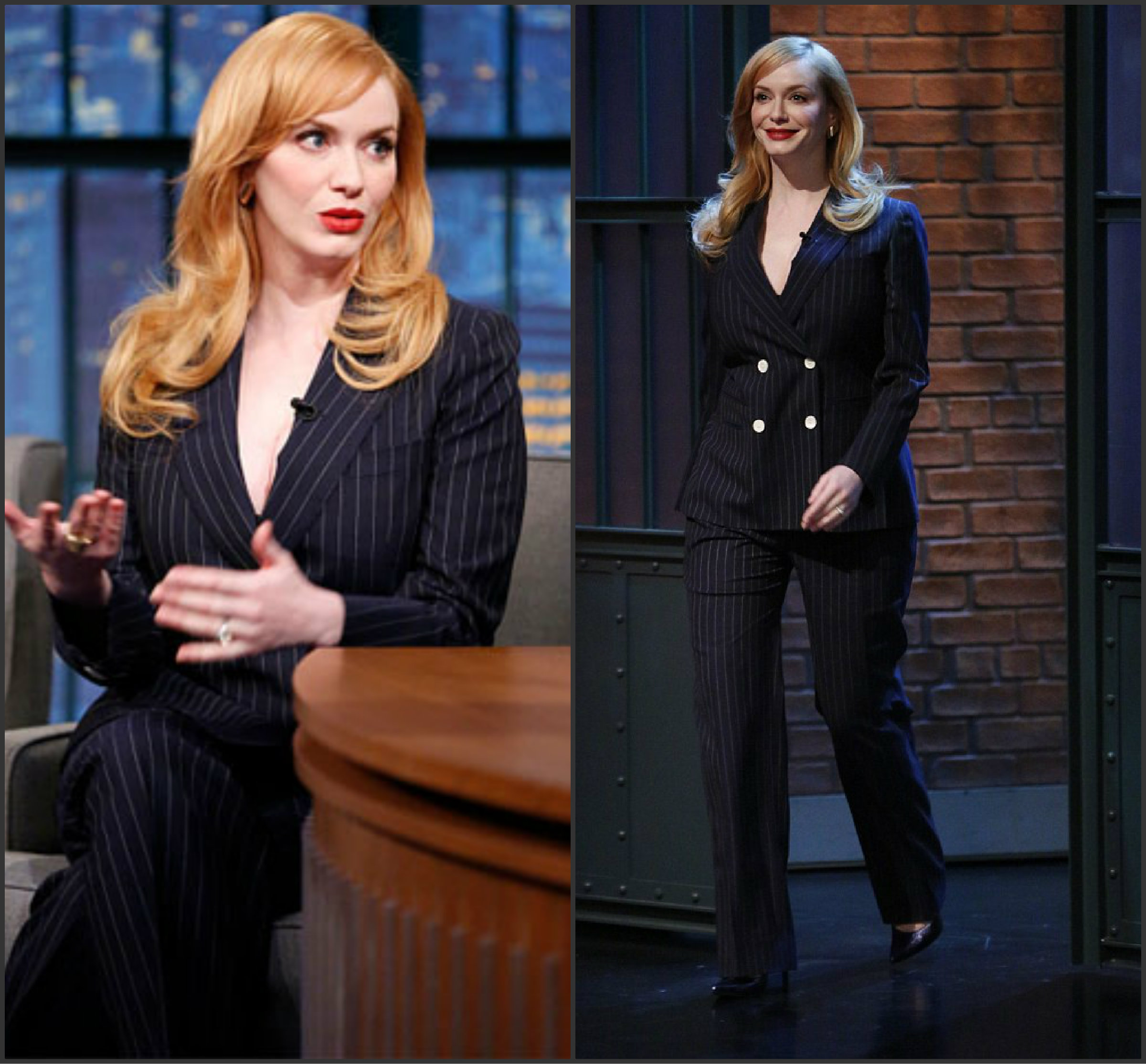 Christina-Hendricks-In-Max-Mara-at-Late-Night-with-Seth-Meyers