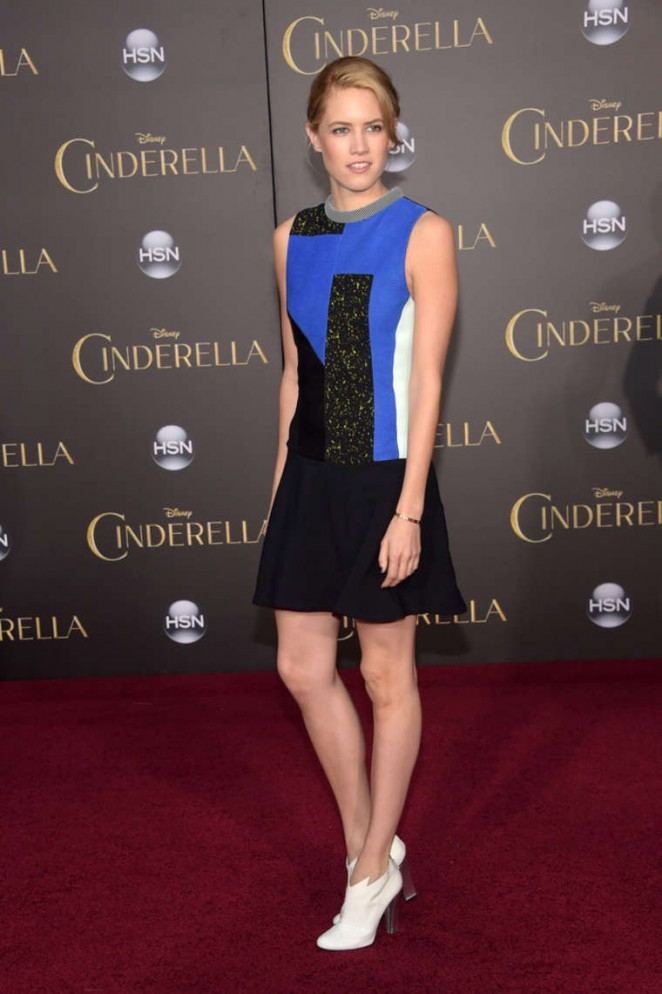 """Cody-Horn-in-a-Proenza-Schouler-at-the-""""Cinderella""""-Premiere-in-Hollywood"""