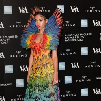 FKA-Twigs-attends-a-private-view-for-the-Alexander-McQueen-Savage-Beauty-exhibition