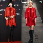 Fan Bingbing In Louis Vuitton at  Louis Vuitton 'Series 2′ Exhibition