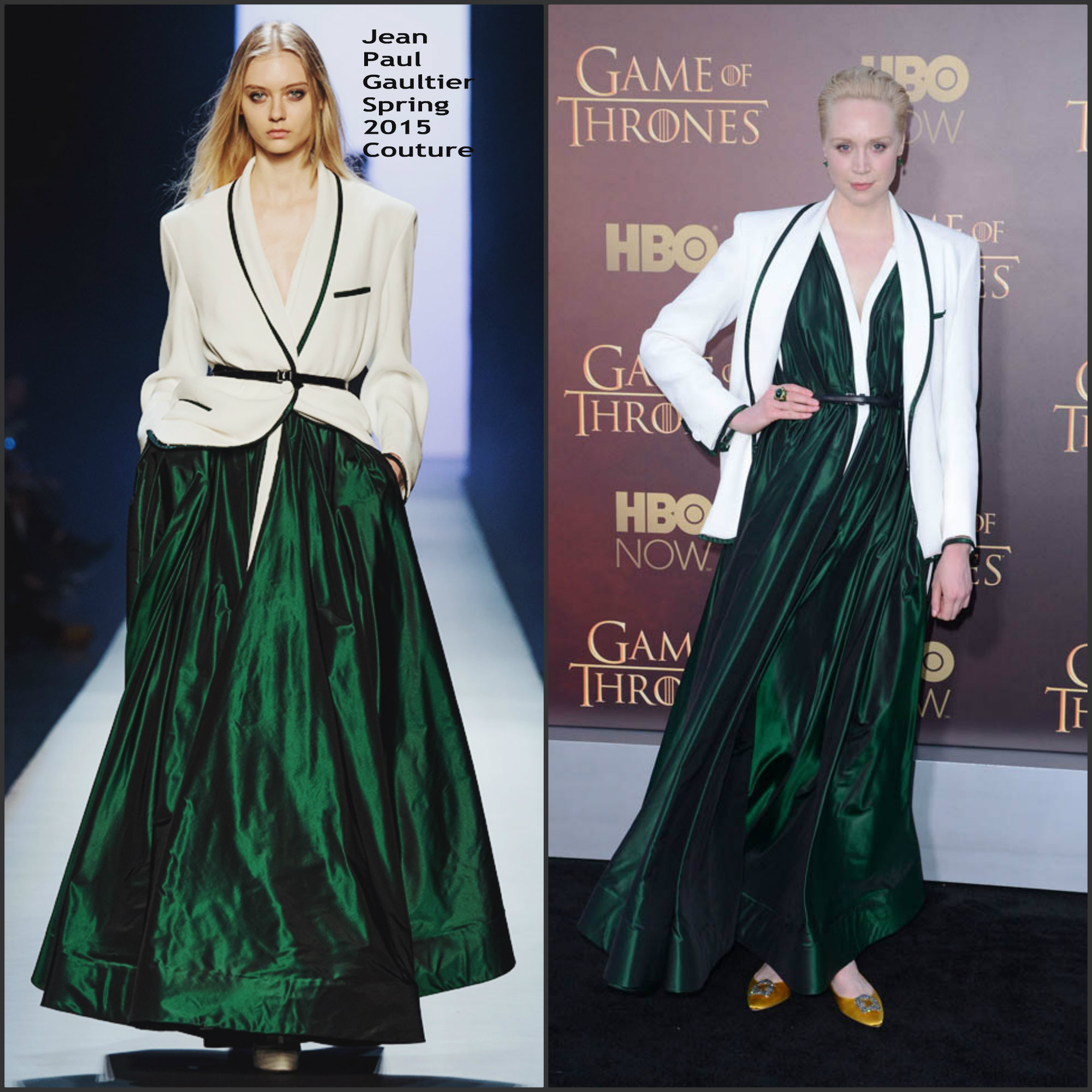 Gwendoline-Christie-In-Jean-Paul-Gaultier-Couture-at-Games-Of-Thrones-Season-5-Premiere