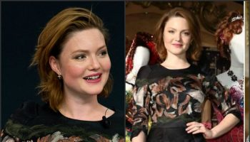 Holliday-Grainger-in-Mulberry-at-the-Cinderella-Exhibition-London-Photocall