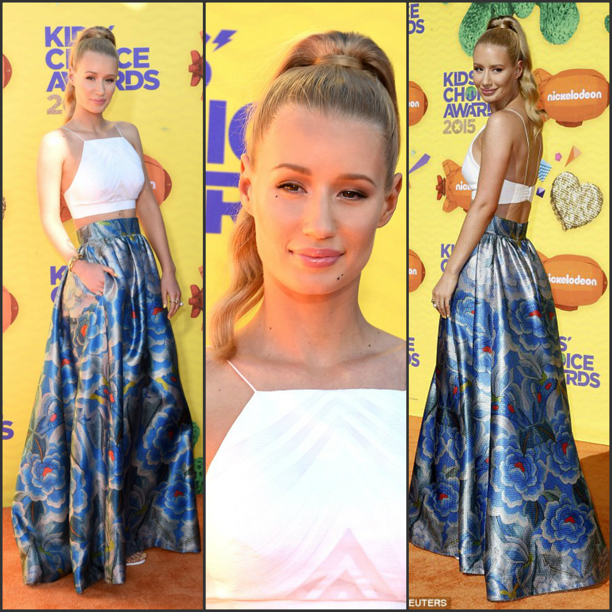 Iggy-Azalea-attends-the-Nickelodeon-28th-Annual-Kids-Choice-Awards