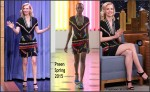 January Jones  In Preen  at The Tonight Show Starring Jimmy Fallon