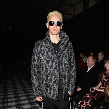 Jared-Leto-Balenciaga-Print-Coat-March-2015-Photo-002
