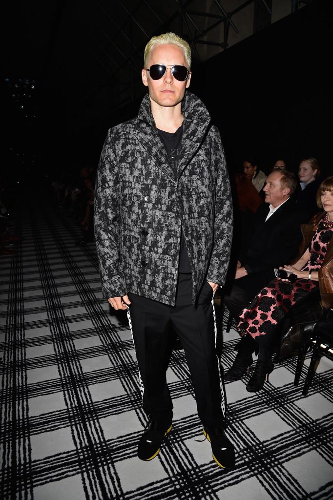 Jared-Leto-Balenciaga-Print-Coat-March-2015-Photo-002
