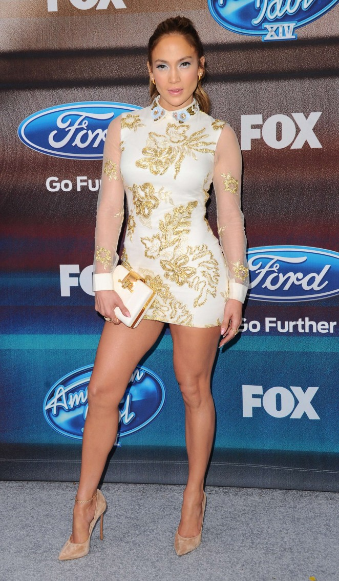 Jennifer-Lopez-in- Marchesa-Notte-at-the-American-Idol-XIV-Finalist-Party