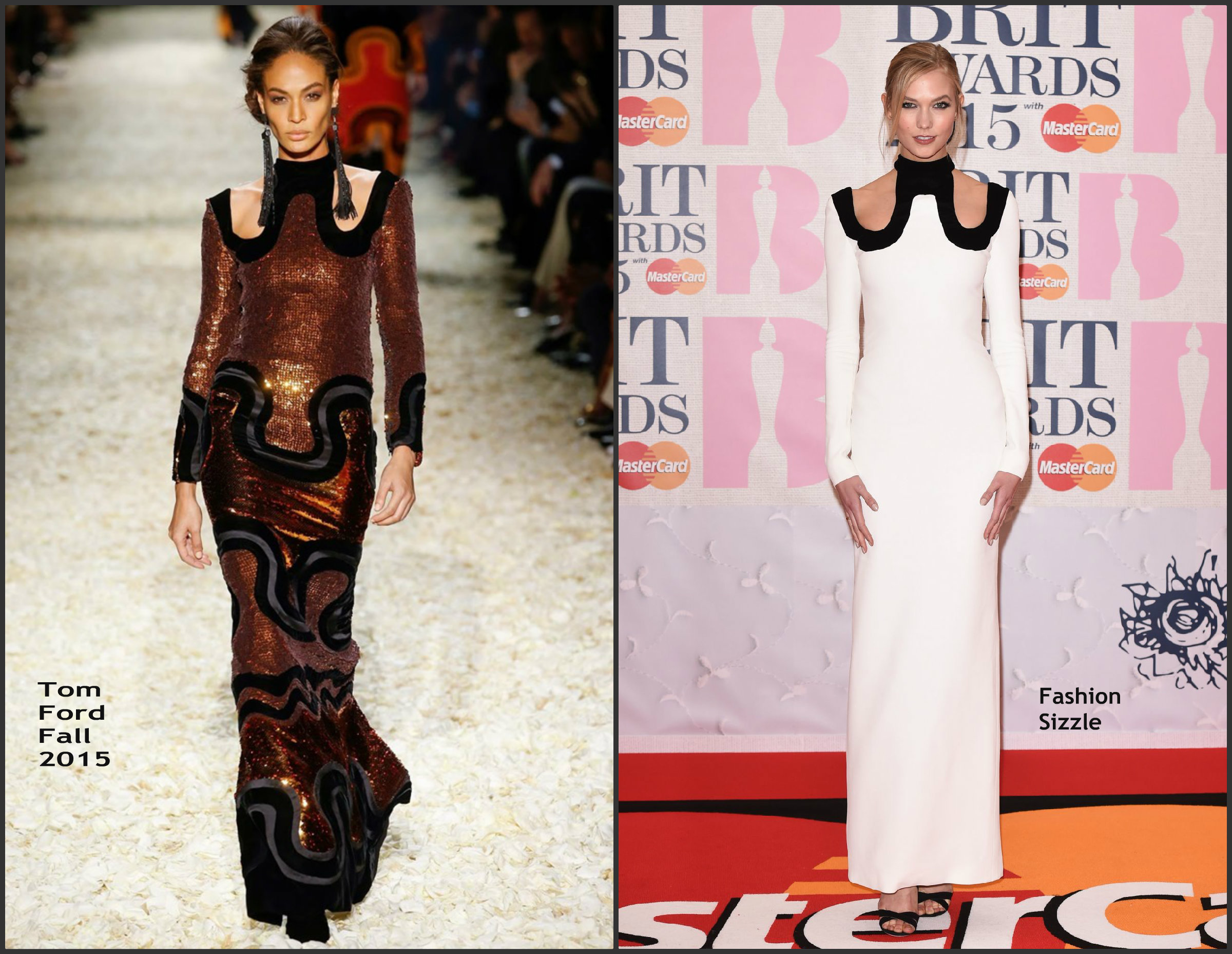 Karlie-Kloss-In-Tom-Ford-at-the-2015-BRIT-Awards