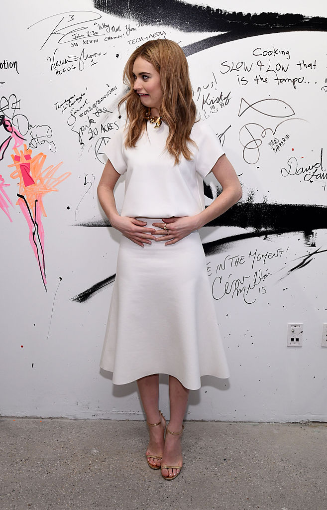 lily-james-in-camilla-and-marc-aol-build-speaker-series