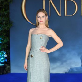 Lily-James-Cinderella-UK-Premiere-01-662×992